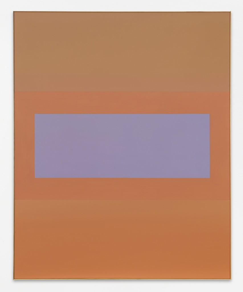 Ohne Titel (Lontananza), 2009, acrylic paint on canvas, 185 x 150 cm