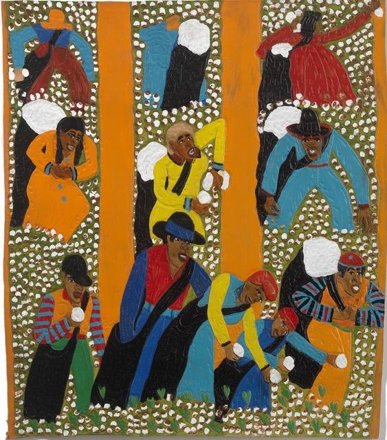 , 'Orange Rows,' 2014, Adelson Galleries