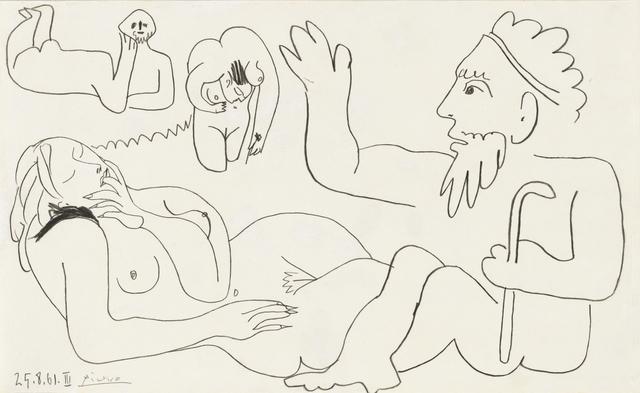 Pablo Picasso, 'Les Déjeuners', 1961, Ludorff