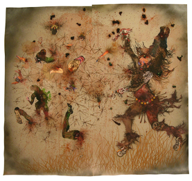 Wangechi Mutu, 'Try Dismantling the Little Empire Inside You,' 2007, Sotheby's: Contemporary Art Day Auction