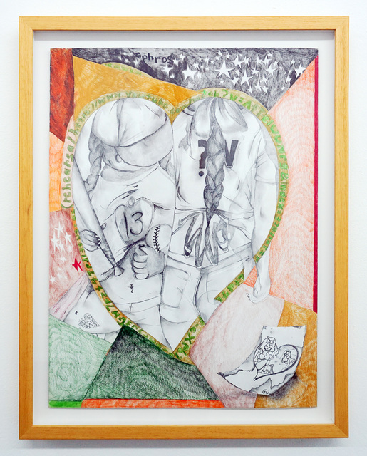 Kayla Ephros, 'Rehearsal', 2018, Drawing, Collage or other Work on Paper, Colored pencil and graphite on board, Et al.