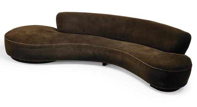 Vladimir Kagan, 'Large Serpentine sofa, New York', 1970s, Rago