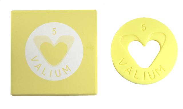 , 'Valium 5mg Roche (Yellow),' 2014, Alternate Projects