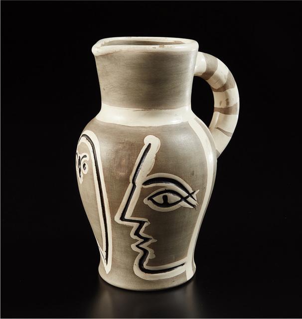 Pablo Picasso, 'Grey engraved pitcher (Pichet gravé gris)', 1954, Phillips