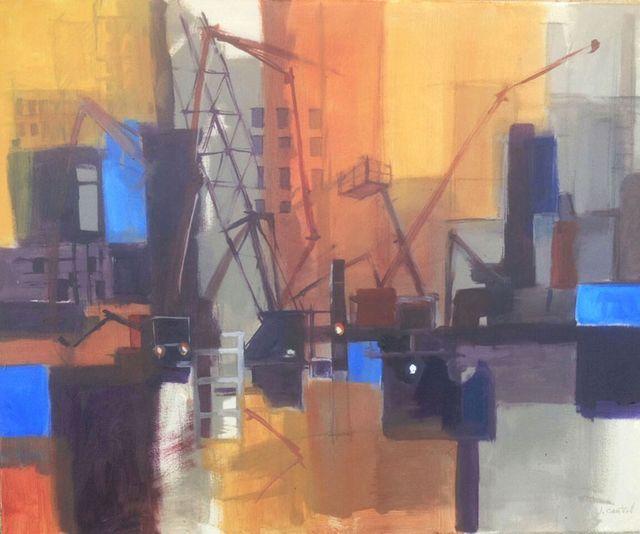 , 'Construction 2,' 2015, Ro2 Art