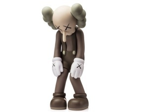 KAWS, 'Small Lie (Brown)', 2017, Forum Auctions
