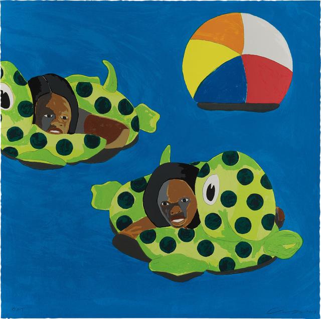 Derrick Adams, 'Turtle Floats', 2017, Phillips