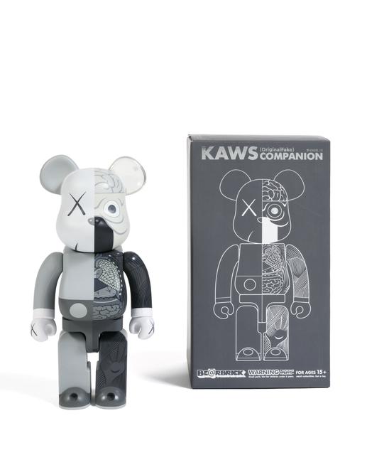 KAWS, 'Dissected Companion Bearbrick 400% (Grey)', 2010, Sculpture, Painted cast vinyl, DIGARD AUCTION