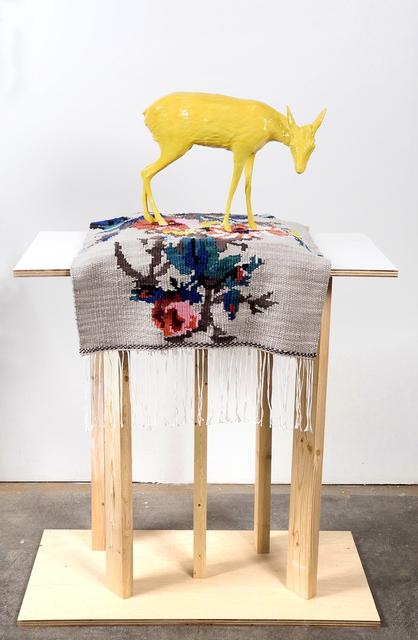, 'Dik Dik and Tapestry,' 2017, Denny Gallery