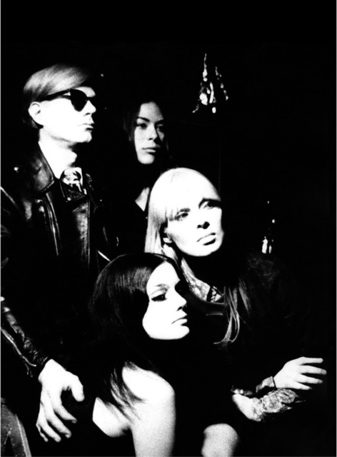 , 'Andy Warhol, Mary Woronov, Nico and Susan Bottomly,' 1966, Milk Gallery