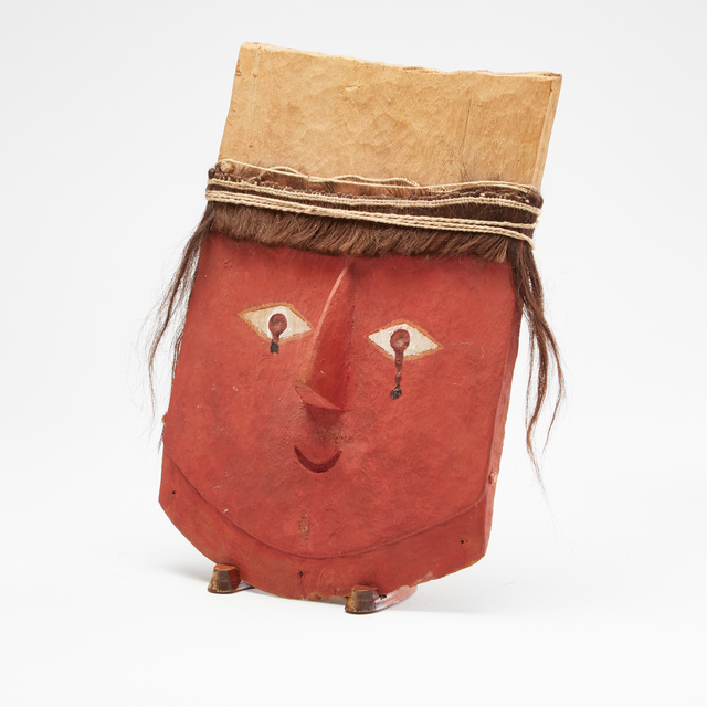 , 'Chancay Painted Wooden Mask,' c. 1000 -1425 AD, Stuart & Co. Gallery