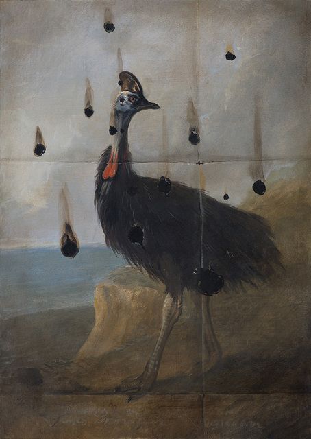 , 'Burnt Cassowary Study No.2,' 2017, The Scottish Gallery