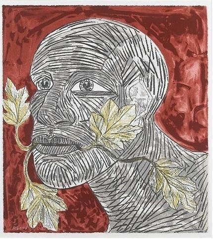 , 'Green Man ,' 1992, Osborne Samuel