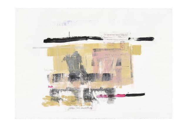 , 'Serie Cortazar, Monoprint P,' 2015, Artemisa Gallery