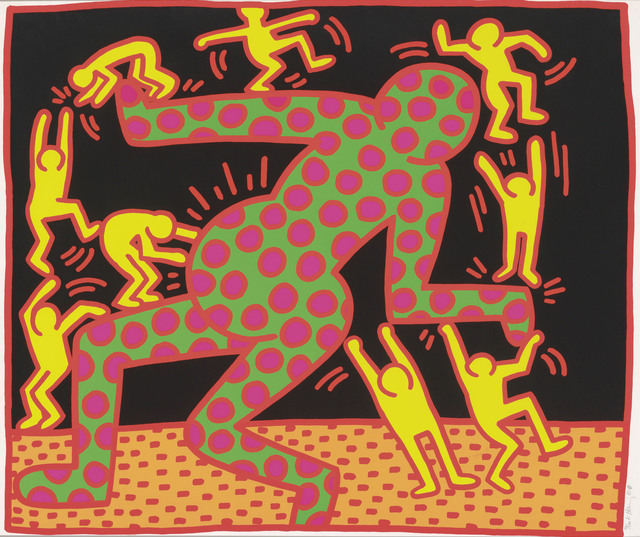 Keith Haring, 'Fertility Suite, Untitled 3', 1983, Maddox Gallery