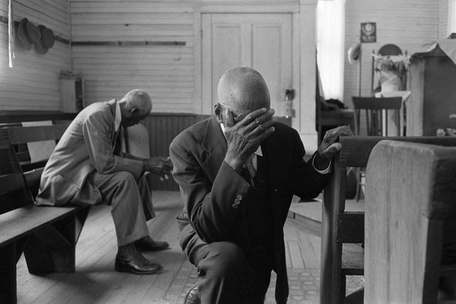 Constantine Manos, 'Man Praying, Daufuskie Island, South Carolina', 1952, Robert Klein Gallery