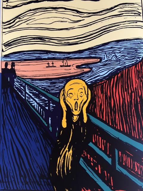 Sunday B. Morning, 'The Scream (Orange)', 2018, Puccio Fine Art