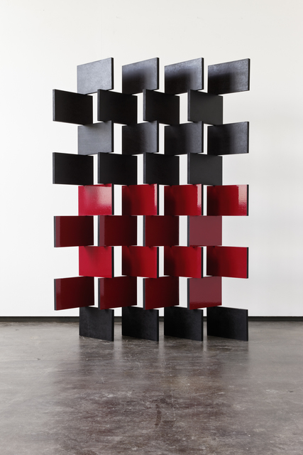 , 'Black and Red Paravent,' 2014, Simon Lee Gallery