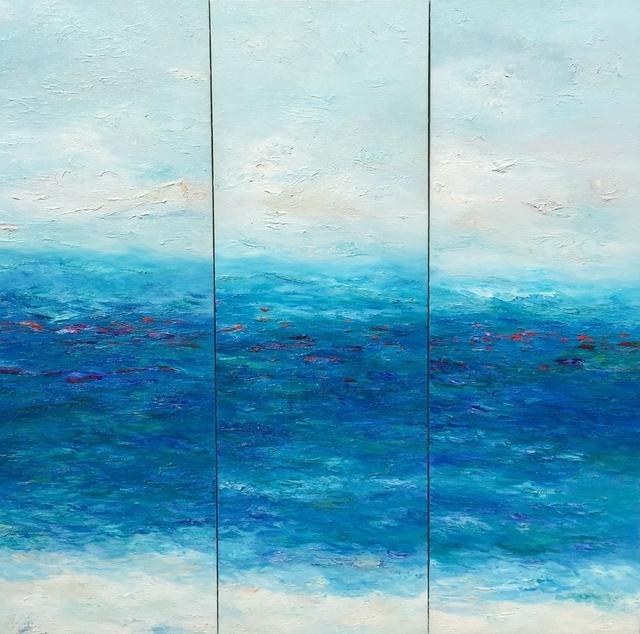 Georgeana Ireland, 'Whispering  Waters - Triptych', Ethos Contemporary Art