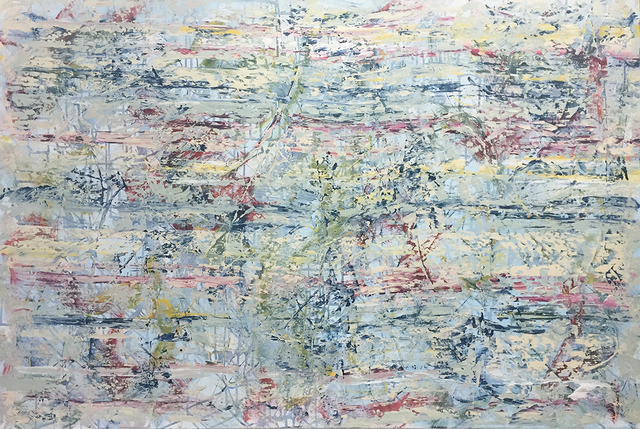 David Skillicorn, 'Della Terra 18-8', 2020, Painting, Mixed media on canvas, Amy Simon Fine Art