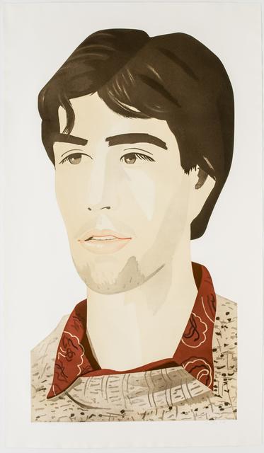Alex Katz, 'Large Head of Vincent', 1982, Brooke Alexander, Inc.