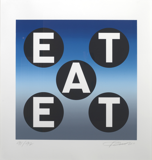 , 'EAT,' 2011, Rosenbaum Contemporary