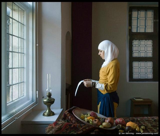 , 'After Vermeer,' 2011, Galerie Fontana