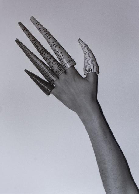 , 'Cones on Fingers,' , Galerie Laroche/Joncas