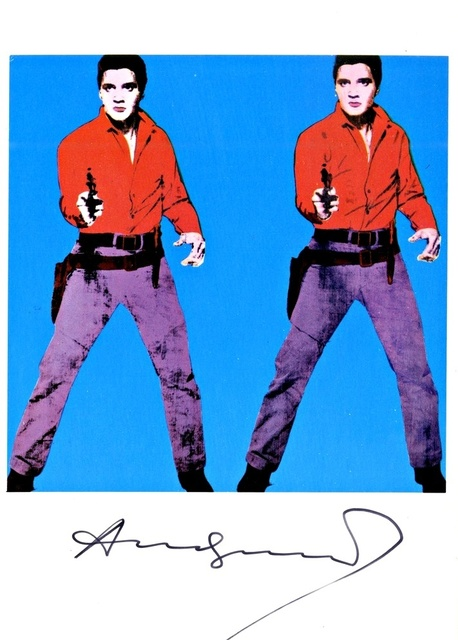 , 'Elvis I (hand signed with great provenance) ,' 1979, Alpha 137 Gallery