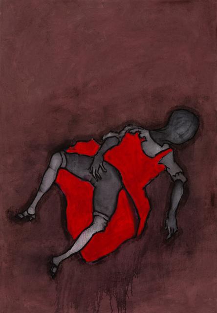 , 'Woman in Red Dress,' 2016-2017, Stevenson