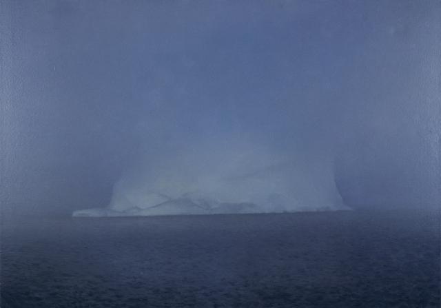 , 'Eisberg im Nebel,' 1982, Fondation Beyeler
