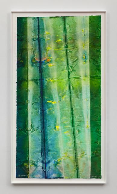 Sam Gilliam, 'B Series 10', 2015, David Kordansky Gallery
