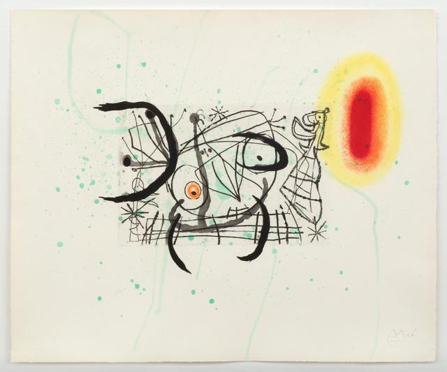 Joan Miró, 'Fissure 11', 1969, Upsilon Gallery