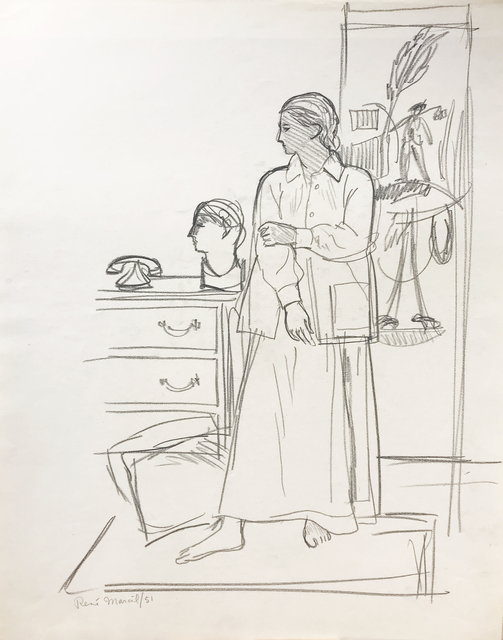 , 'Untitled,' 1951, Nikola Rukaj Gallery