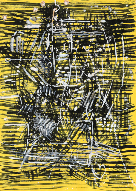 Antonio Sanfilippo, 'Untitled', 1954, Painting, Tempera on paper, Martini Studio d'Arte