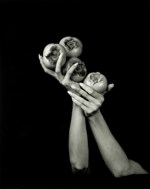 Dale M. Reid, 'Persimmons ', 2019, Photography, Silver gelatin, JL Phillips Gallery