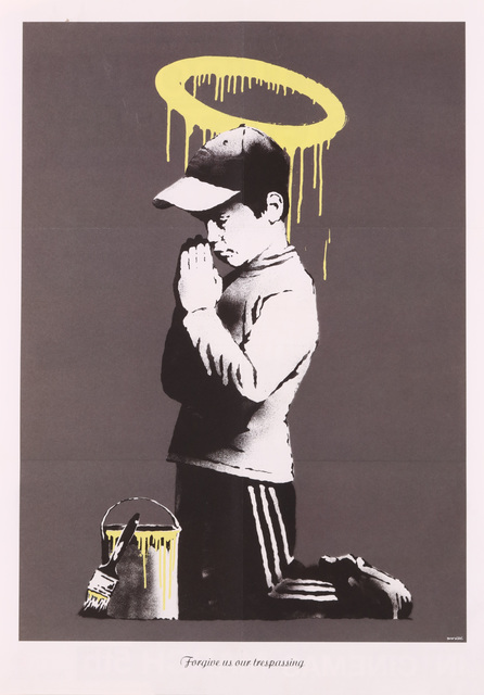 Banksy, 'Forgive Us Our Trespassing', 2010, Chiswick Auctions