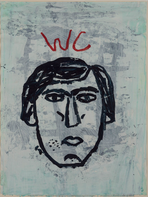 Donald Baechler, 'Water Closet Drawing #1', 1985, Doyle