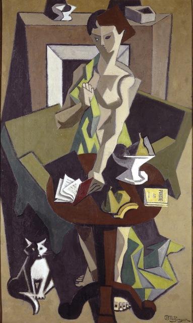 Jean Metzinger, 'The Green Robe', 1912-1914, ARS/Art Resource