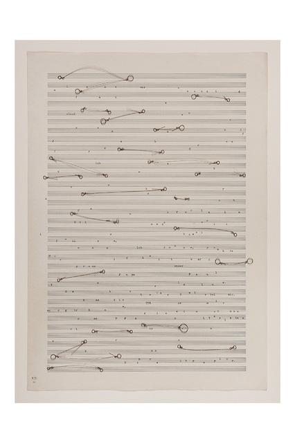 , 'Fraseo II,' 2017, Casas Riegner