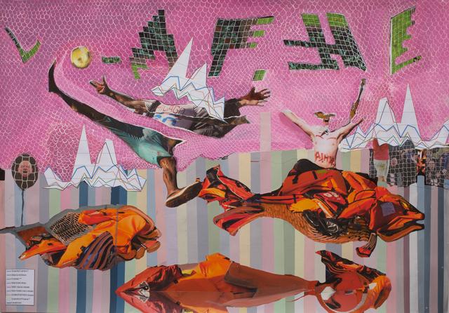 , 'Where is Waldo,' 2017, Galerie Krinzinger