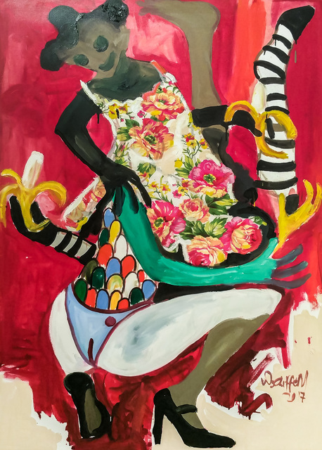 Wycliffe Mundopa, 'Little flower', 2017, Out of Africa Gallery
