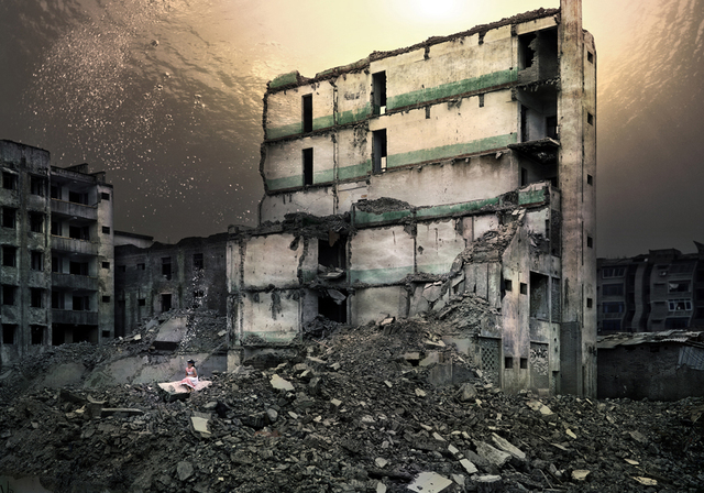 , 'Uprooted #6, Old Town of Kaixian: Nanjiao, Dormitory Building,' 2007, Galerie Richard