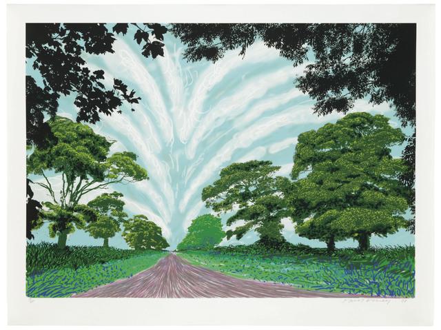 David Hockney, 'Summer Sky', 2008, Christie's