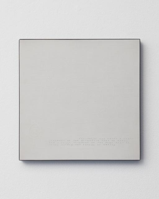 , 'Recalculating the Extension of Y,' 1994, Locks Gallery