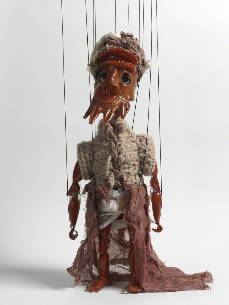 Wael SHAWKY, Cabaret Crusades: The Secrets of Karbalaa (Marionette), 2015 © Wael Shawky; Courtesy Lisson Gallery