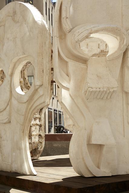 Thomas Houseago, 'Masks (Pentagon)', 2015, Public Art Fund