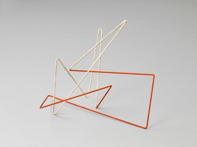, 'Raumplastik Rot-Weiß,' 1954, Aurel Scheibler