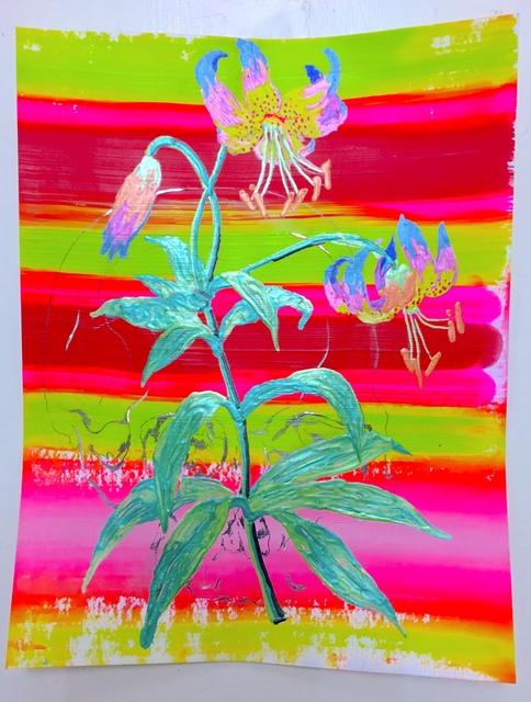 , 'Post mortem vanitas (lelie),' 2018, Galerie Bart