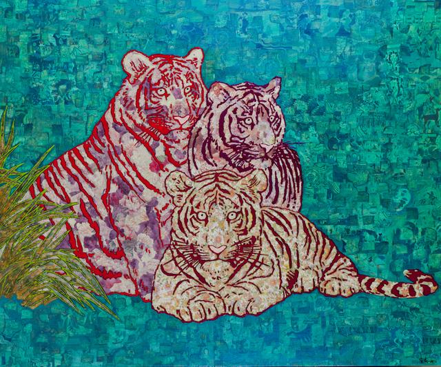 , 'Three Tigers,' 2014, ShanghART